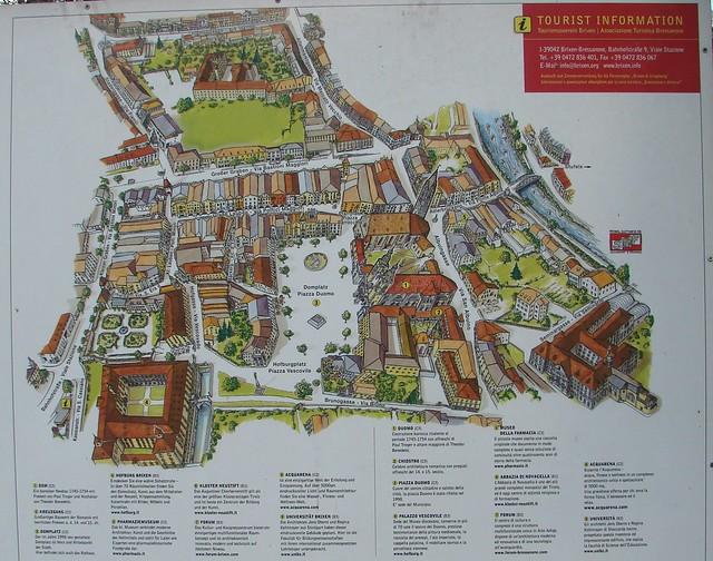 Bressanone mappa centro storico flickr photo sharing for Hotel a bressanone centro storico
