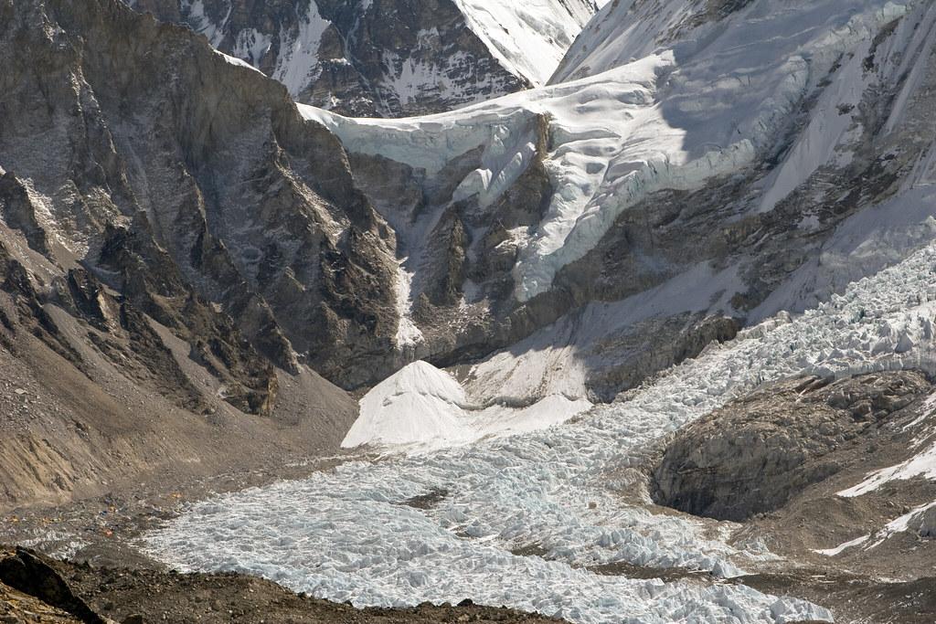 Everest Base Camp and Khumbu Icefall