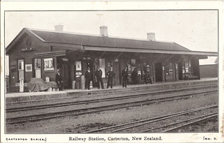 1912 Railway Station Carterton New Zealand