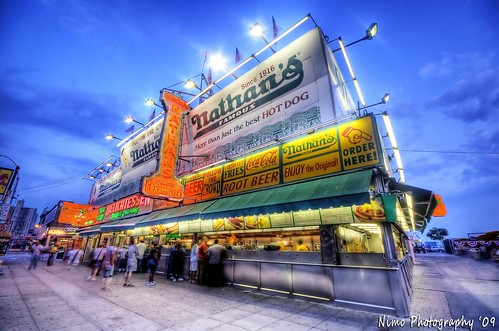 Nathan's Famous Franks, We're Still HERE BROOKLYN!!!!!!!!!!!