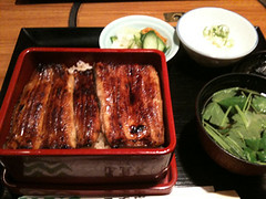 samgyeopsal(0.0), meal(1.0), unadon(1.0), unagi(1.0), japanese cuisine(1.0), food(1.0), dish(1.0), cuisine(1.0),