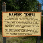 Idaho City Masonic Temple Historic Marker