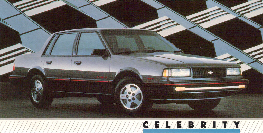 1989 Chevrolet Celebrity Eurosport - a photo on Flickriver