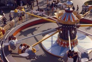 Dumbo ride, Disneyland, 1979