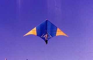 Hang Gliding at the ski hill in Centennial Park 2, Toronto