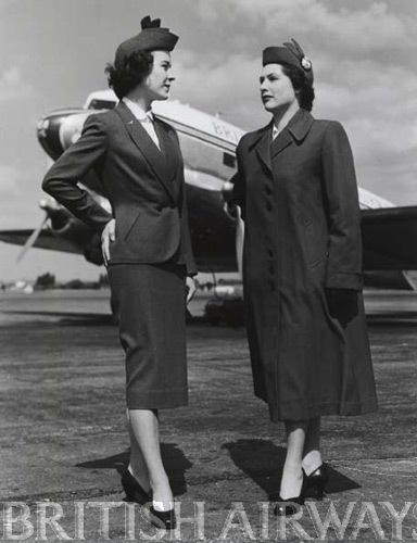 1950s - BEA stewardesses