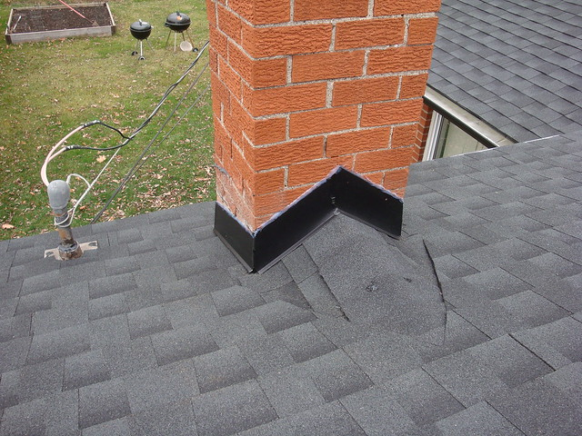 Bloomfield Construction - Chimney saddle 3