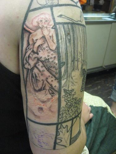 Story Sleeve Tattoo: Written On Her Skin: My Fairy Tale Tattoo Sleeve And How
