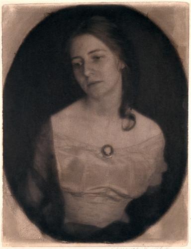 The Cameo (Portrait of Julia McCune)