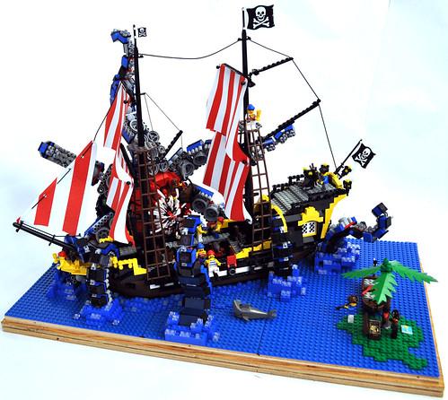 how to build a lego kraken