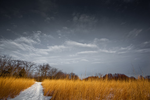sky snow grass weather clouds dark flickr gloomy path prairie naperville springbrook jonathanrobsonphotographycom viapixelpipe
