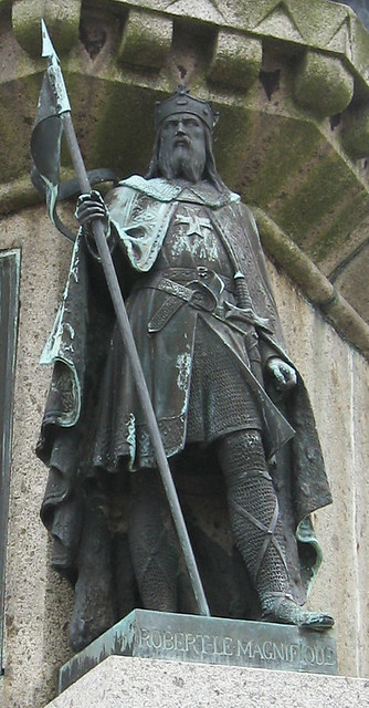 Falaise - Statue of William the Conqueror, Robert the Great