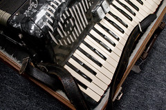 accordion, piano, musical instrument,