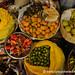 Antigua Market Peppers and Fruit - Guatemala