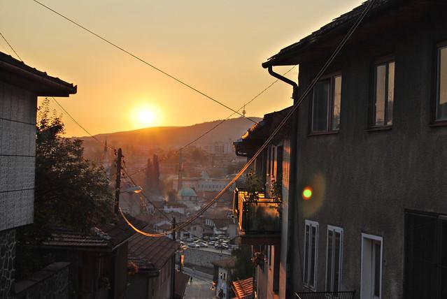 Sarajevo - sunset