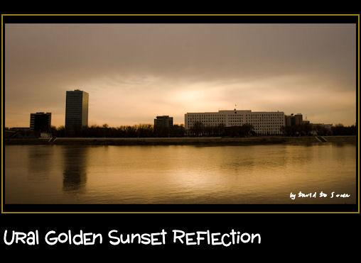 Ural Sunset Reflection / Reflejo de un Atardecer sobre El Ural