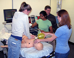 Emergency Medicine Interest Group (EMIG), Boonshoft School of Medicine, Dayton, Ohio, SIM Lab