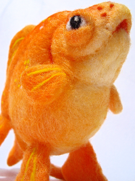 Felt Goldfish 2