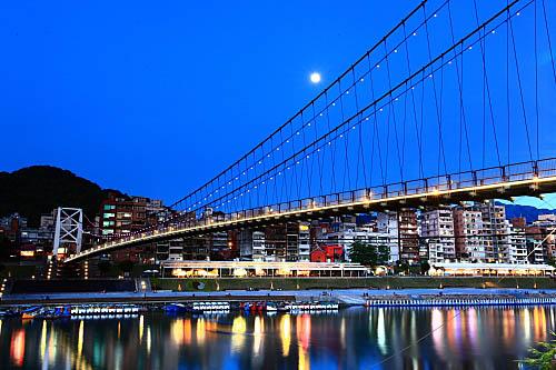203I碧潭吊橋-夜景