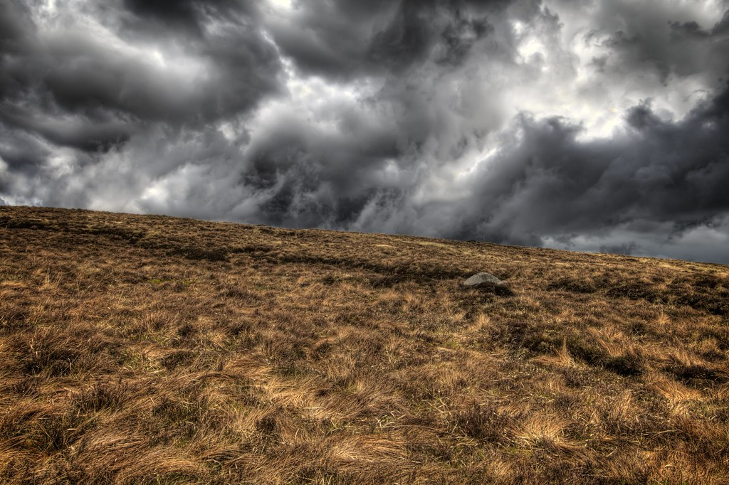 Angry Clouds of Sally Gap