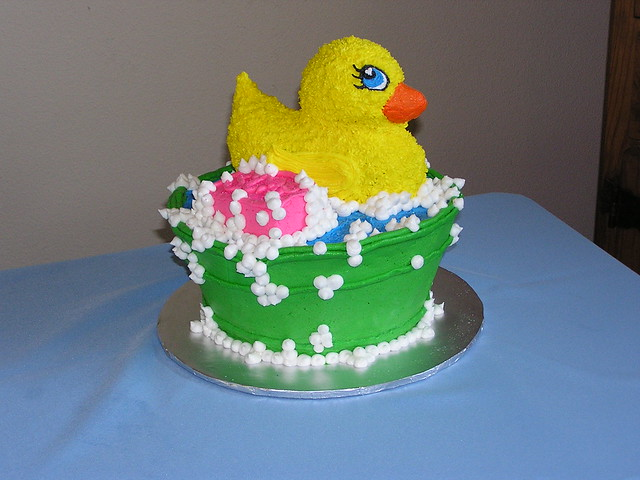 duck baby shower cake 5 flickr photo sharing