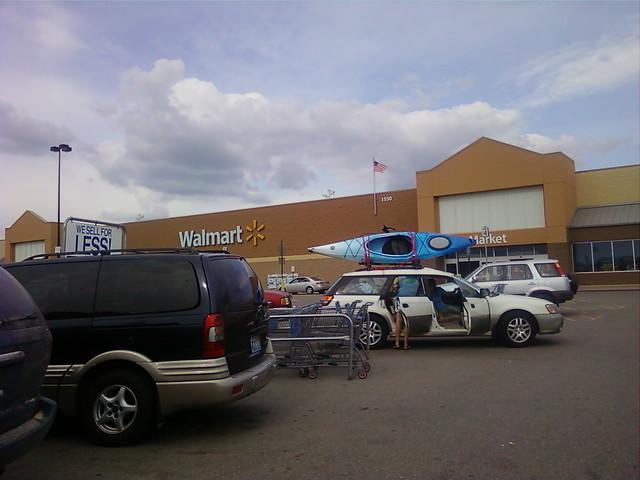 Wal-Mart - Albert Lea, Minnesota - Store Front Closeup