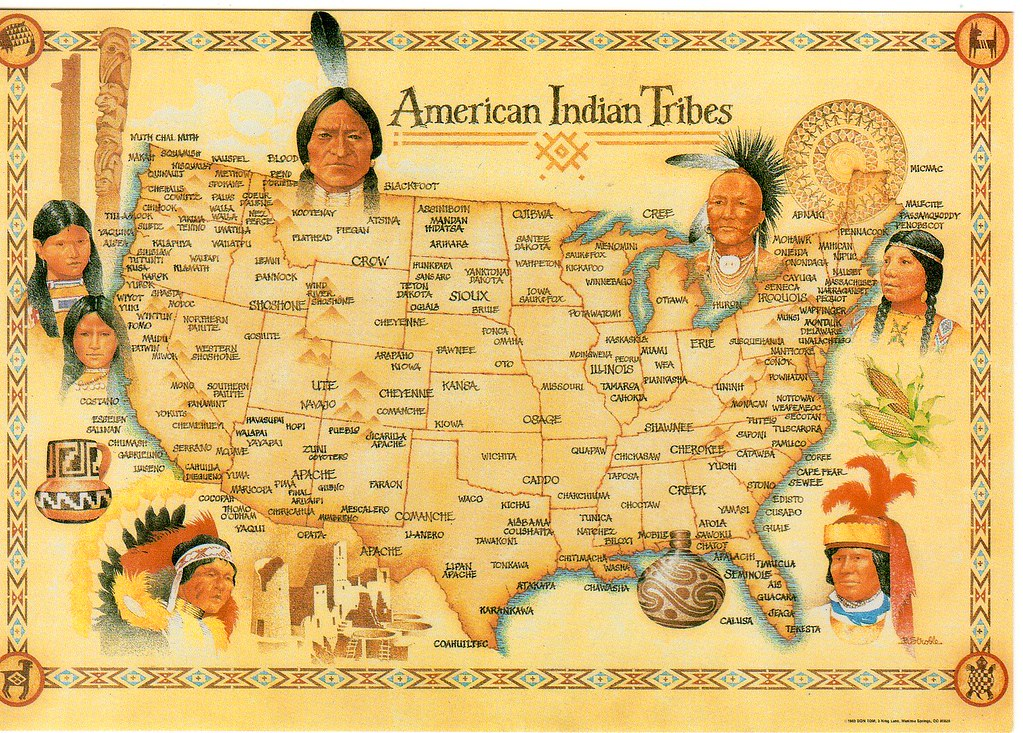 Native American Map Of Usa | Aahealthcare