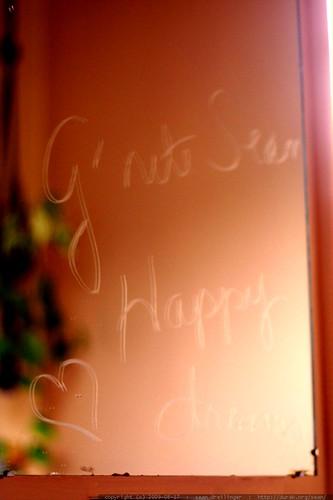 grandma left me a goodnight message on her bathroom mirror    MG 1342