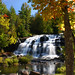 Bond Falls Autumn Splendor Landscape