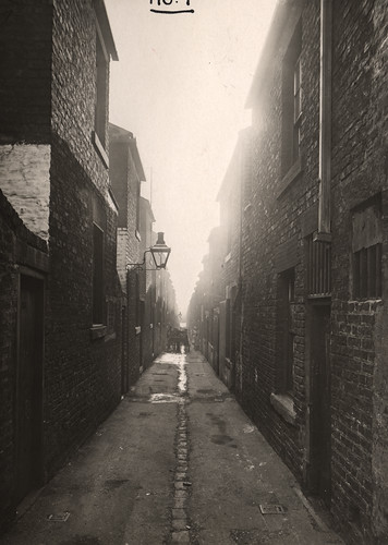 034598:Tyneside Terrace/Mitford Avenue Elswick Dept of Environmental Wellness 1934