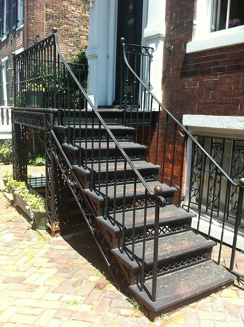 Cast Iron Front Stairs Step One Old Town Home