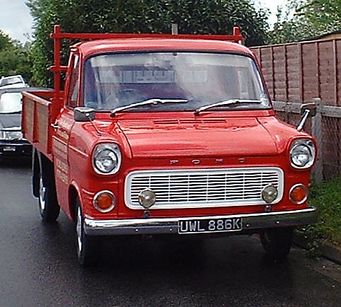 1972 ford transit mk1 pick up flickr photo sharing. Black Bedroom Furniture Sets. Home Design Ideas