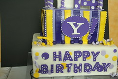 cake, yellow, party, baked goods, food, cake decorating, birthday cake, dessert, birthday,