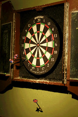 recreation(0.0), carom billiards(0.0), dartboard(1.0), indoor games and sports(1.0), individual sports(1.0), sports(1.0), games(1.0), darts(1.0),