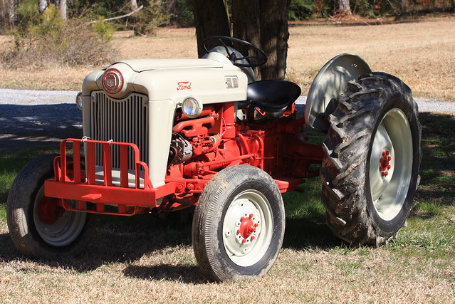 1953 ford tractor quot golden jubilee quot flickr photo sharing