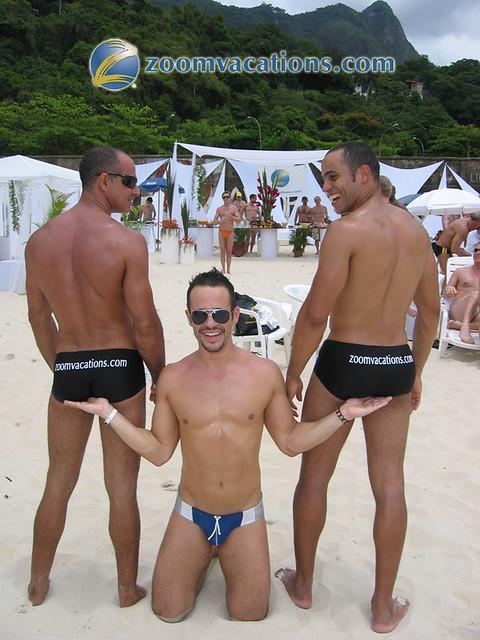 nude beach gay party