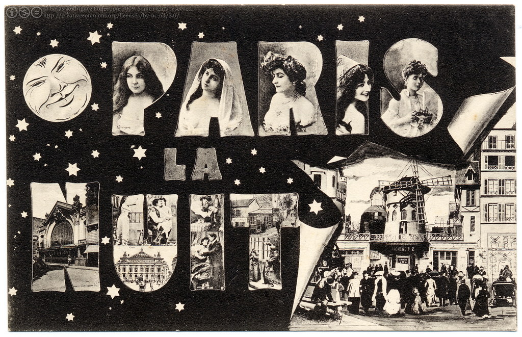 Image result for Montmartre theatre 1905
