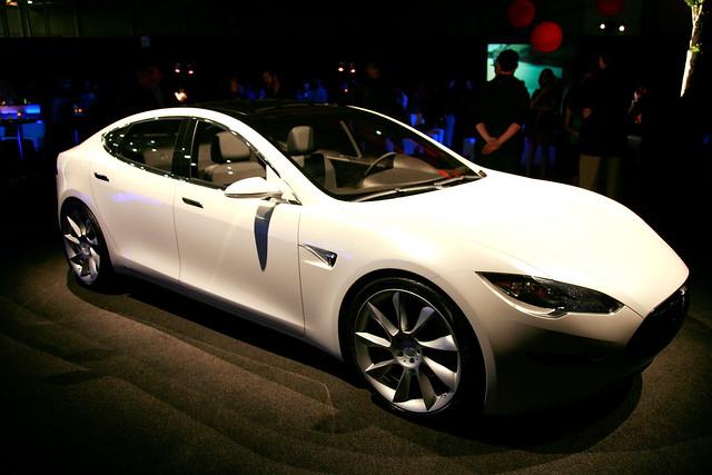 Tesla Model S Event