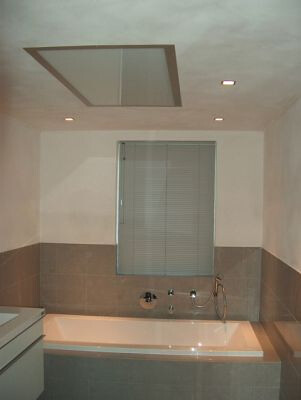 Pannelli infrarossi controsoffitto bagno flickr photo sharing - Mobile bagno in cartongesso ...