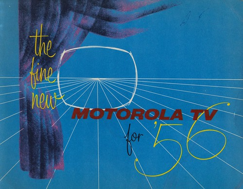 The Fine New Motorola TV for '56