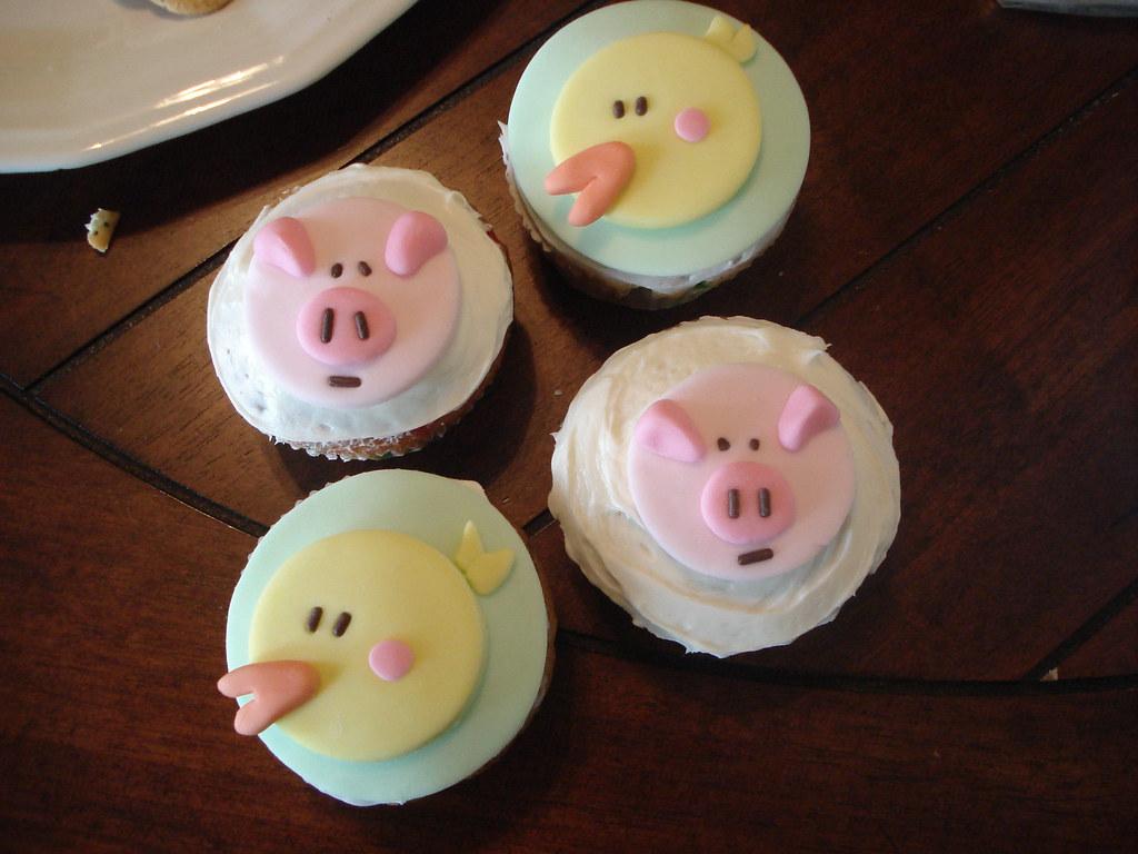 Cupcake Decorating Ideas Using Fondant : EASTER CUPCAKE DECORATING IDEAS. DECORATING IDEAS EASTER ...