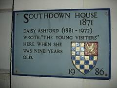 Photo of Daisy Ashford grey plaque