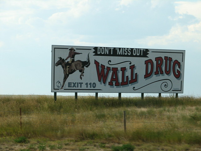 Image result for wall drug billboards