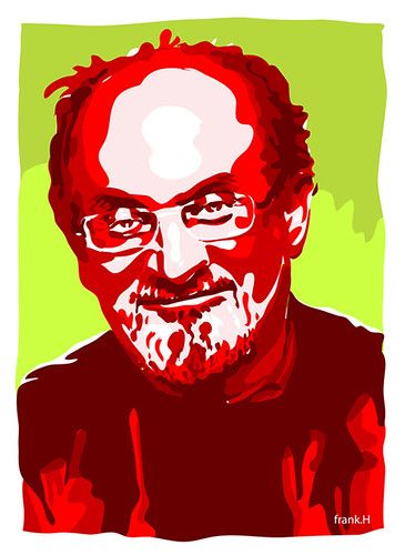 Sir Salman Rushdie by Frank.Hilzerman