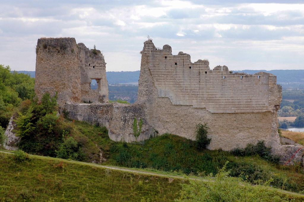 Château Gaillard: le châtelet