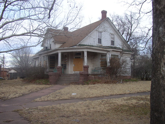 Granite Oklahoma House With Granite Porch Flickr Photo