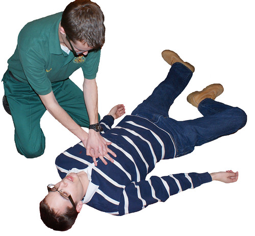 Paramedic cpr, Save yourself