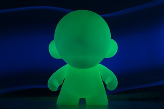 Munny (GID) + Blacklight