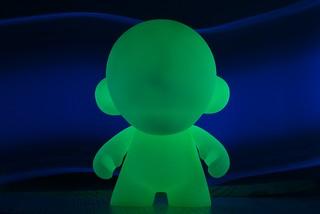 Munny (GID) + Blacklight