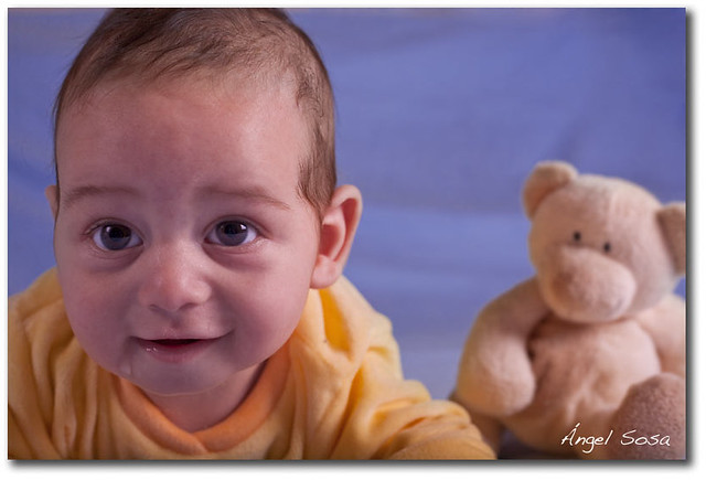 Fotos Divertidad De Bebe Tres Meses